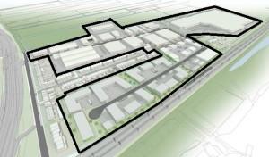 kaart BIZ grens Dobbewijk (animatie)
